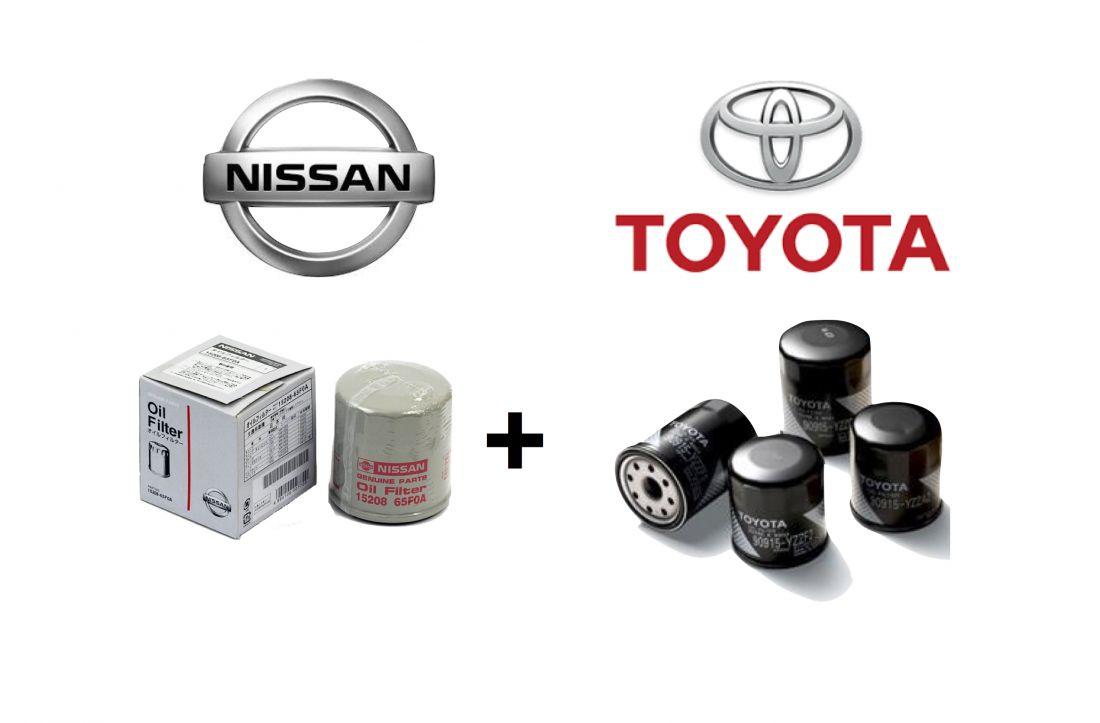 Toyota Nissan Oil Filter Promotion